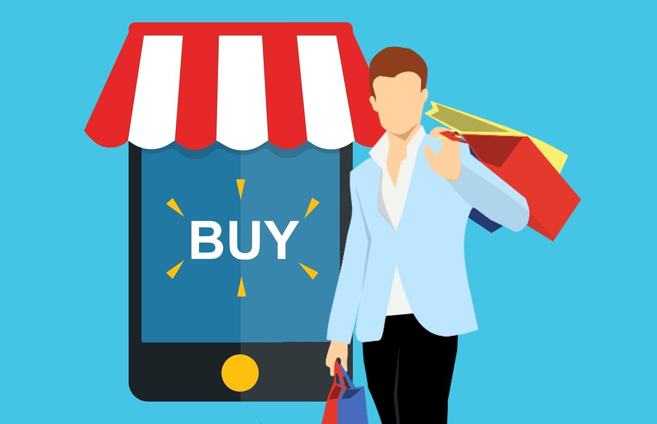 קניות דרך אפליקציה