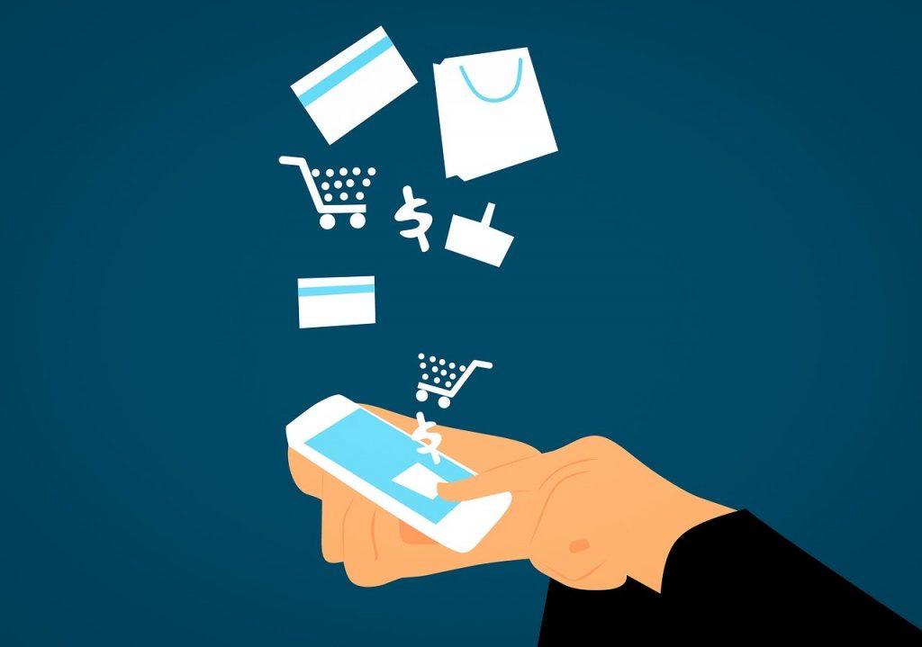 קנייה דרך מכשיר סלולר