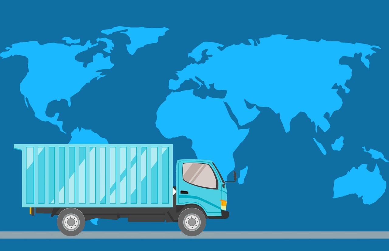 מפה ומשאית