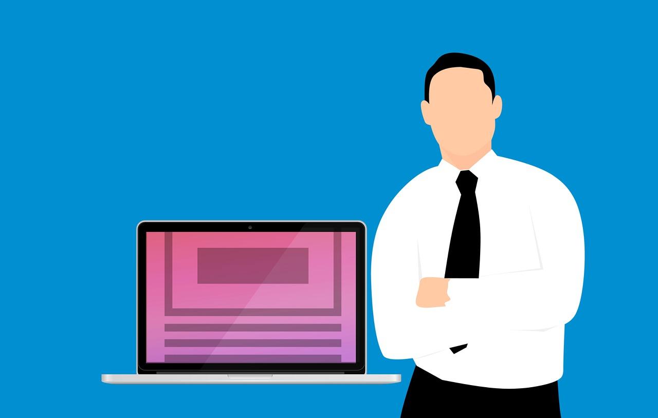 מחשב ואיש דיגיטל